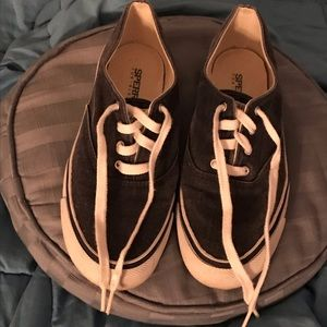 Sperry Top Sider sneakers in blue denim size 7